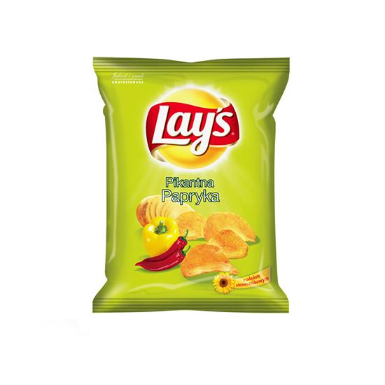 Lay's Chipsy Pikantna Papryka 140g/80g