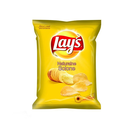 Lay's Chipsy Solone 140g/80g