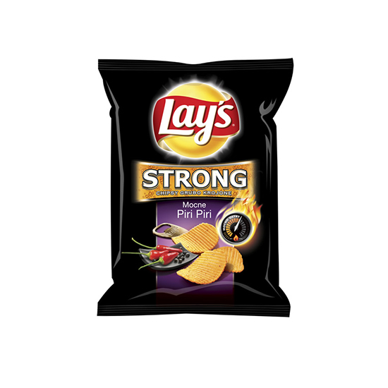Lay's Chipsy Strong Mocne Piri Piri