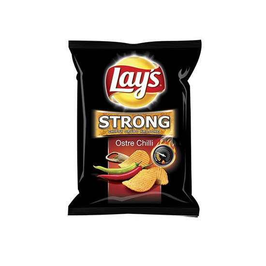 Lay's Chipsy Strong Ostre Chilli