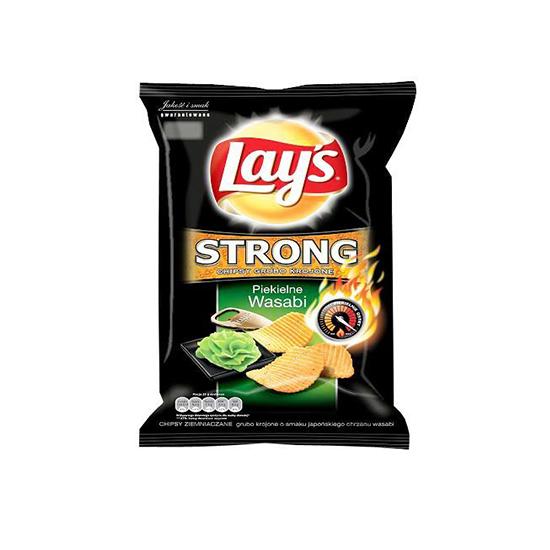 Lay's Chipsy Strong Piekielne Wasabi
