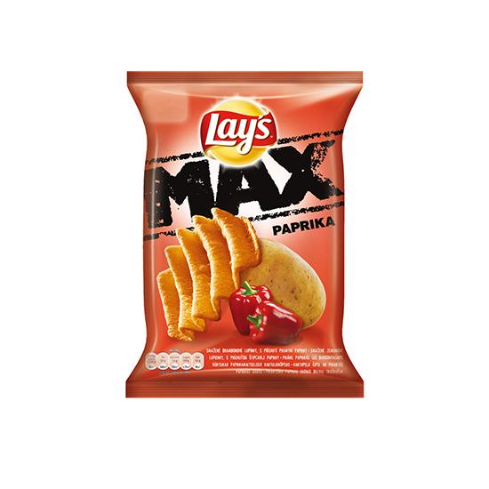 Lay's Max Chipsy Czerwona Papryka