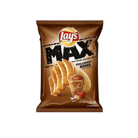 Lay's Max Chipsy Grillowany Kebab
