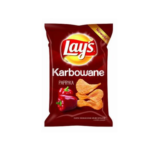 Lay's Chipsy Karbowana Papryka 140g