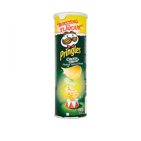 Pringles cheese&onion 550